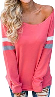 NEARTIME Plus Size Blouse, 2018 Autumn Ladies Long Sleeve Splice T-Shirt O-Neck Sexy Tops Casual Clothes