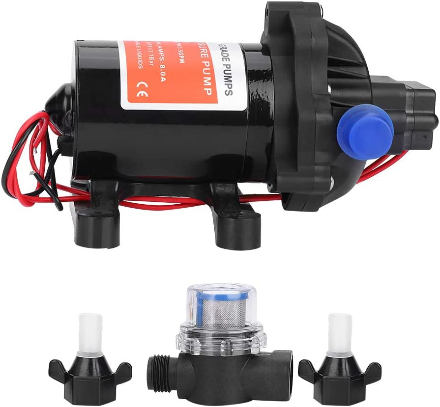 Water Pump 12V 3.5 GPM Fully Automatic Pressure 45PSI High Fresh Department Max 84% OFF store