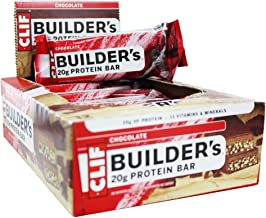 Builder s Protein Bar Chocolate 12 Bars 2 4 oz 68 g Each – Clif Bar Estimated Price : £ 31,99
