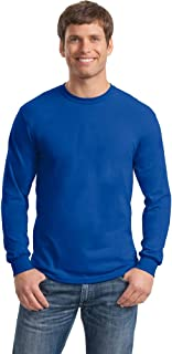 Gildan Mens Heavy Cotton 100% Cotton Long Sleeve T-Shirt
