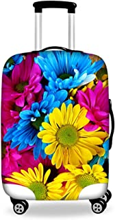 CHAQLIN 3D Floral Luggage Protective Cover for 18 to 30 inch Trolley Suitcase