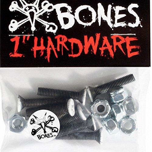 Bones Vato Hardware Phlillips Bolts x8 Black 1 Inch