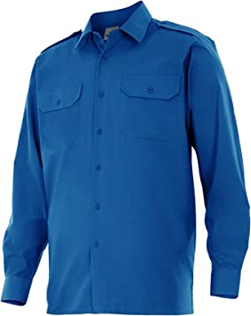 Velilla P5309M - Camisa uniforme manga larga: Amazon.es ...