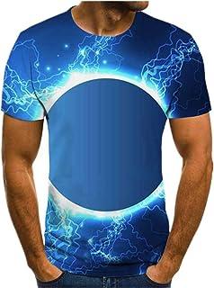 Camiseta de manga corta con estampado geométrico