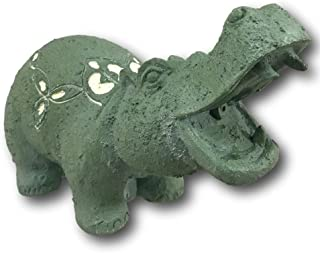 TOTAL POND A16541 TotalPond Hippo Pond Fountain Spitter, Green