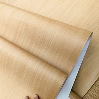 Vinyl Faux Wood Wallpaper Self Adhesive Waterproof Contact Paper Peel and Stick for Kitchen Countertop 45cm x 300cm