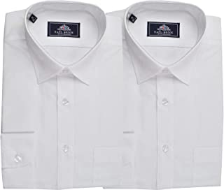 Rael Brook Mens Formal Short Sleeve Easy Care Shirts