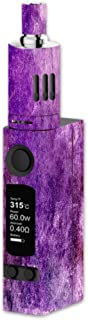 Decal Sticker Skin WRAP Shades of Purple Abstract Art for Joyetech eVic VTC Mini