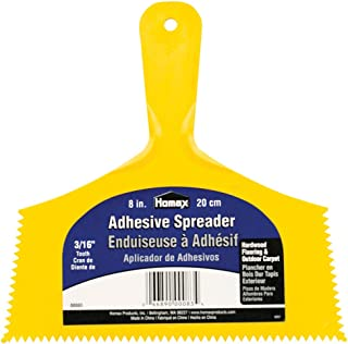 Homax Group Inc HOMAX Products 83 Wide Outdoor Carpet Adhesive Spreader Notch, 8-Inch