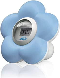 Philips Avent Digital Bath and Room Thermometer, Blue, SCH550/20