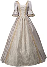 I-Youth Womens Royal Queen Medieval Renaissance Dresses Victorian Civil War Ball Gown Masquerade Costume
