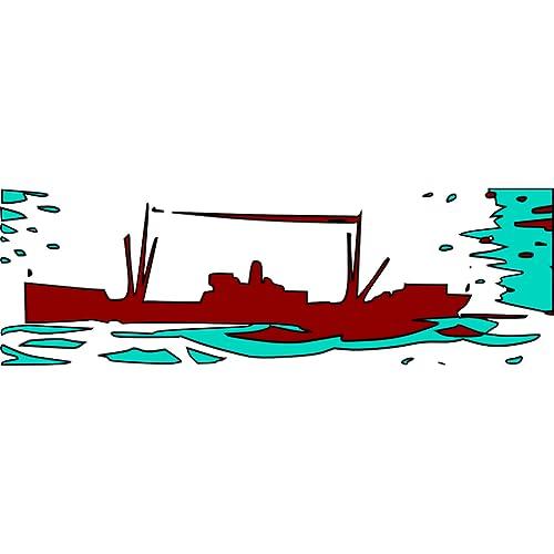 Los barcos de guerra de los países