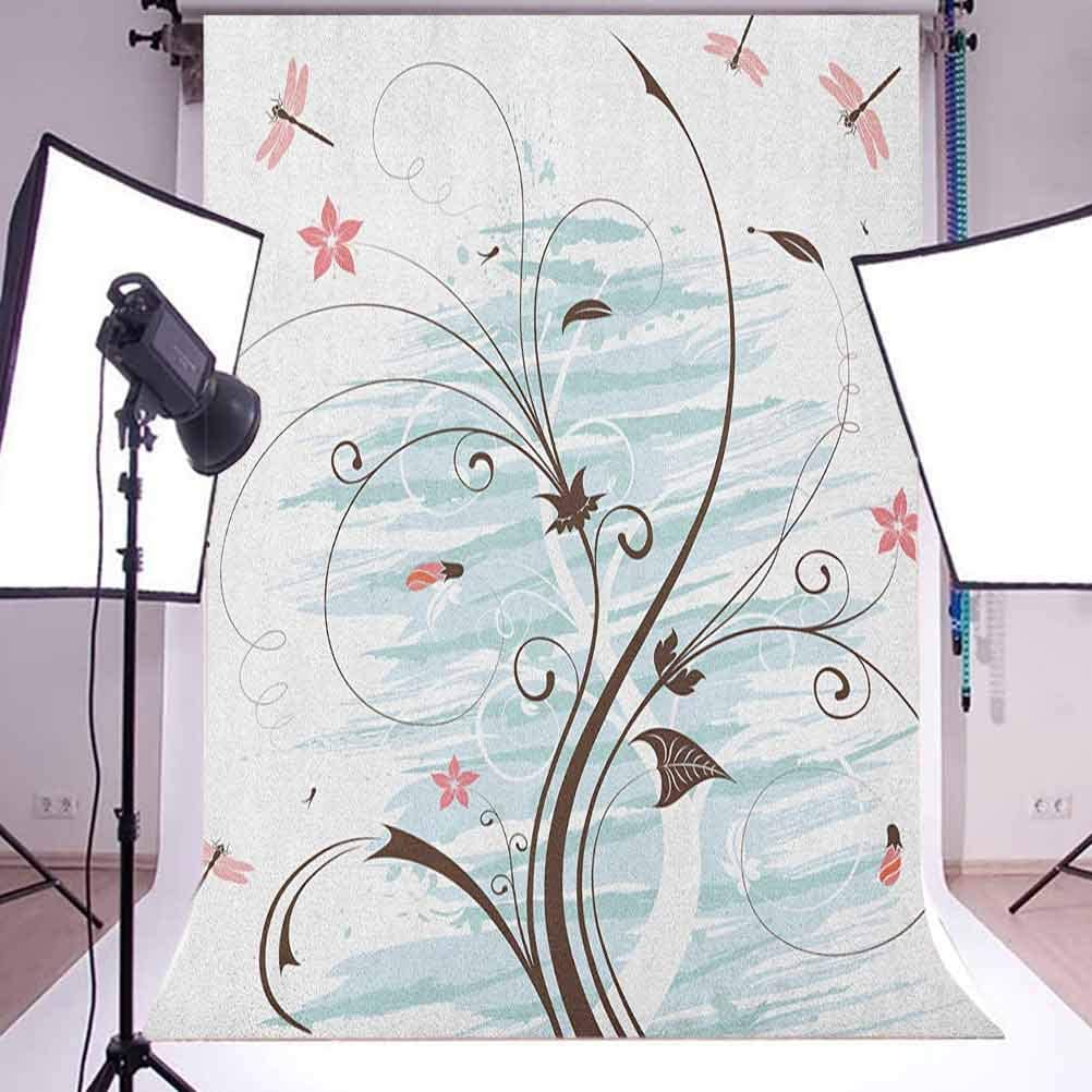 8x12 FT Music Vinyl Photography Background Backdrops,Colorful All Jazz Equipment Set on Flat Design Funky Music Symbols Graphic Design Background for Photo Backdrop Studio Props Photo Backdrop Wall