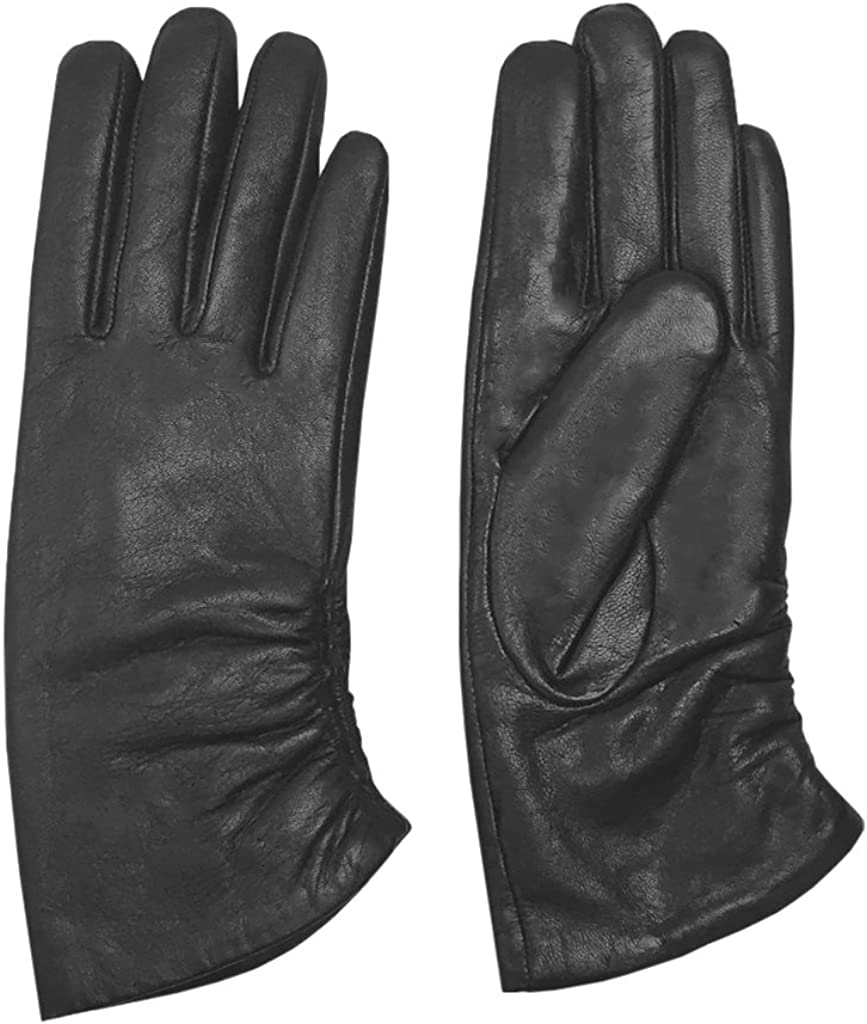 MoDA Women's Ms. Rotterdam Genuine Leather Fully Lined Winter Gloves