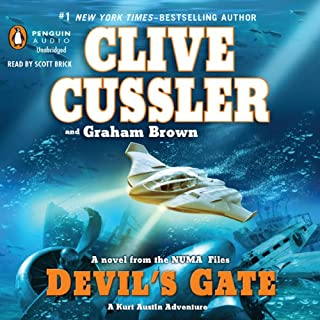 zzzDevil's Gate     NUMA Files, Book 9              By:                                                                                                                                 Clive Cussler,                                                                                        Graham Brown                               Narrated by:                                                                                                                                 Scott Brick                      Length: 12 hrs and 34 mins     63 ratings     Overall 4.4