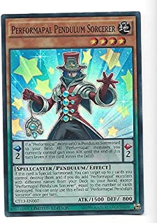 Yugioh Super Rare Card Performapal Pendulum Sorcerer Limited Edition CT13-EN007 by Yu Gi Oh!