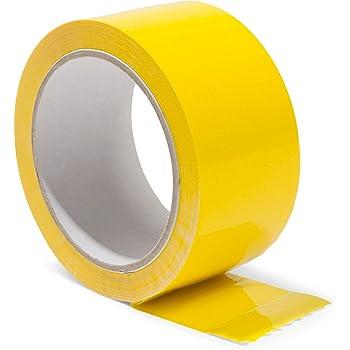 X 110 Yds J.V Converting-Opp 20C-Nastro adesivo da pacchi giallo qualit/à Ed economico 2 In