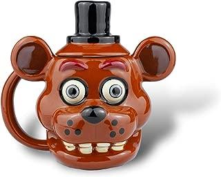 Five Nights at Freddy's FNaF OFFICIAL Freddy Fazbear Ceramic Coffee Mug, 20oz