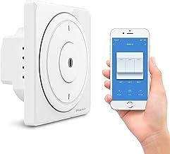 Alexa Interruptor Luz Pared, Maxcio Interruptor Inteligente WiFi 3 Gang Compatible con Alexa, Google Home y IFTTT, Control de APP y Función de Temporizador, Neutral Requerido