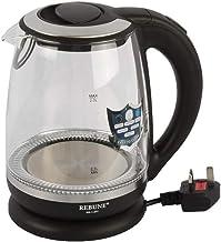 REBUNE- Electric Kettle 2.0L 2200W RE-1-077 Black/clear