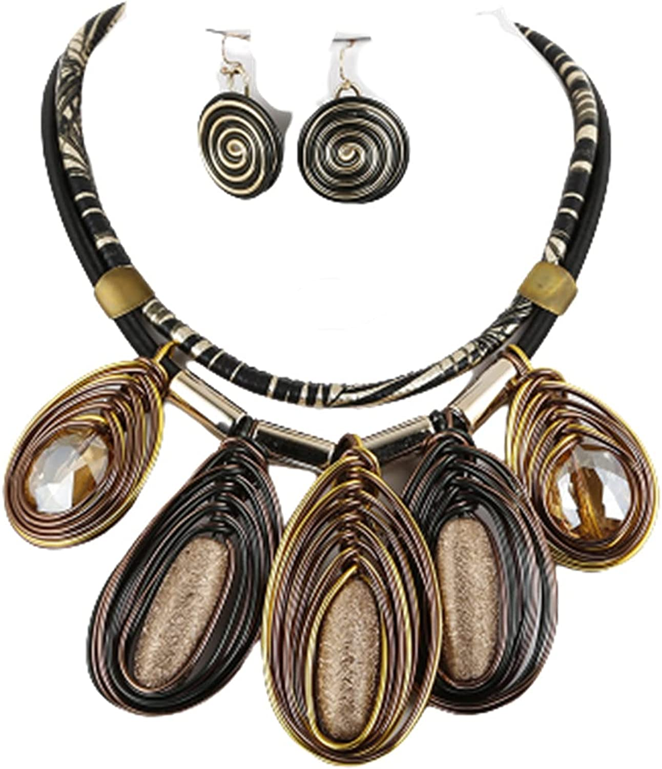 Chunky African Jewelry 4 years warranty Bib Sale special price Ea Costume Necklace Statement