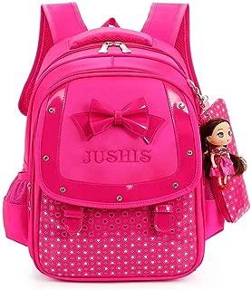 TYUIO Cute Lightweight Backpacks Girls School Bags Kids Bookbags (Color : Pink)
