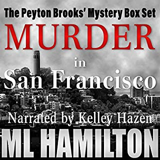 The Peyton Brooks' Mysteries Box Set                   By:                                                                                                                                 M.L. Hamilton                               Narrated by:                                                                                                                                 Kelley Hazen Storyteller Productions                      Length: 76 hrs     17 ratings     Overall 4.5