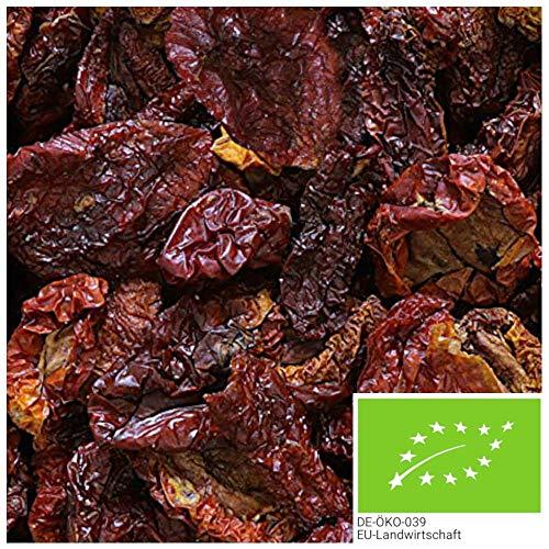 1kg getrocknete BIO Tomaten, mit Meersalz verfeinerte und schonend getrocknete Tomatenhälften - ein besonderer Genuss im Salat oder als Antipasti