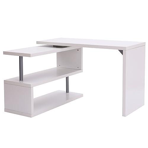 Bureau Angle Blanc Amazon Fr