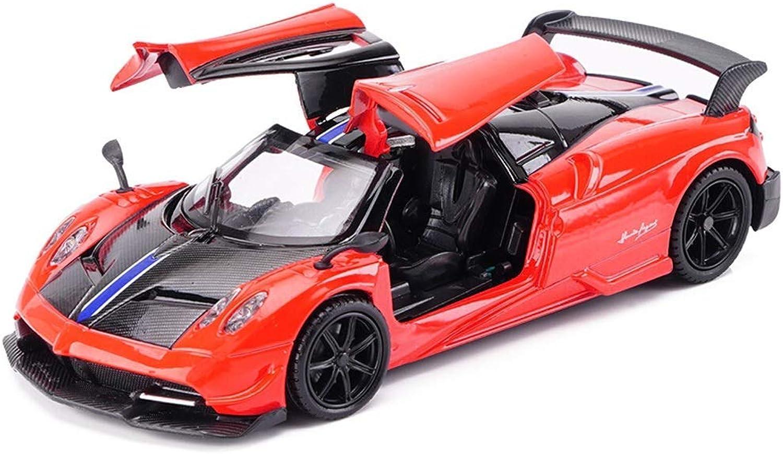 precio razonable LL-Coche Model Modelo de Coche Deportivo Deportivo Deportivo Fundido a presión, vehículo de simulación de Modelo Pagani Huayra, decoración de Modelo de Coche de Juguete de aleación a Escala 1 32 (Color  Rojo)  muchas sorpresas