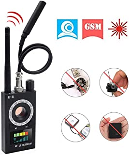 Anti Spy Detector Hidden Camera Detectors, Zonlicat Spyware Detector Device RF Bug Detector, GPS Tracker / GSM Listening Device Finder Radio Scanner Wireless Signal Alarm