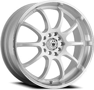 Konig 26W LIGHTNING 17x7 5x100/5x114.3 +40mm White Wheel Rim