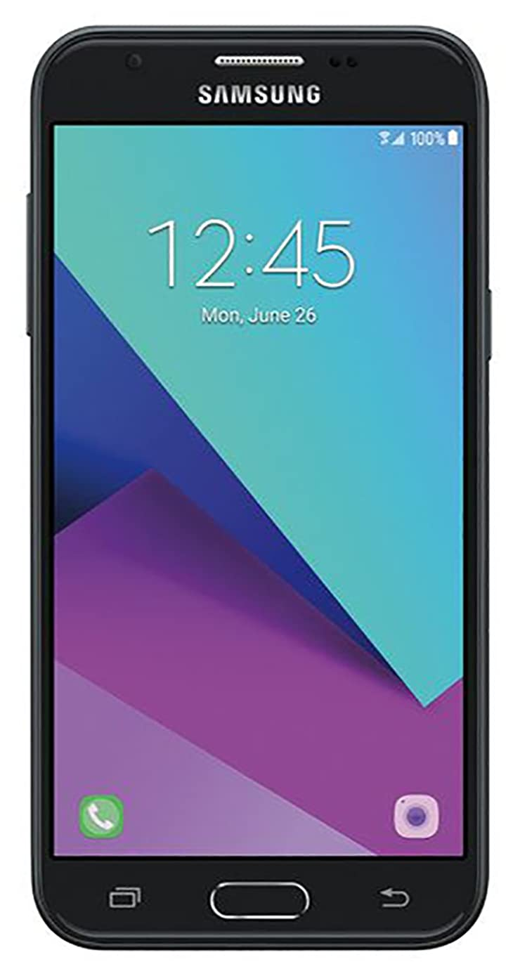 Samsung Galaxy Express Prime 2 2017 J327a / J3 Emerge 16GB Unlocked GSM 5in HD Display Android Smartphone - Dark Gray (Renewed)