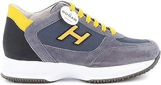 Luxury Fashion | Hogan Men HXM00N0Q102N6Z50C0 Grey Suede Sneakers | Spring-summer 20