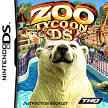 Zoo Tycoon DS Instruction Booklet (Nintendo DS Manual ONLY - NO GAME) Pamphlet - NO GAME INCLUDED