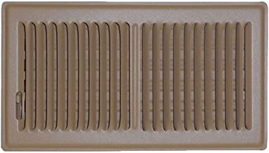 Speedi-Grille SG-612 FLB 6-Inch by 12-Inch Brown Floor Vent Register with 2 Way Deflection