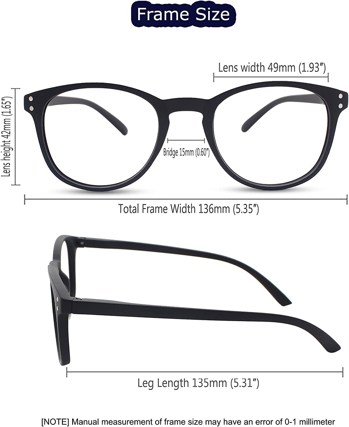 Blue Light Blocking Reader for Men Women Reading Glasses with Comfortable  Soft Surface, 20 Pack Stylish Mens Computer Readers Anti Eyestrain in Black  ...