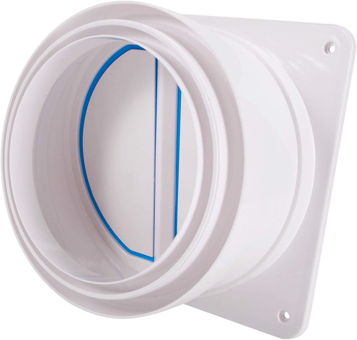 Ranking TOP3 Backdraft Damper 6'' HG POWER Shutter Wall Draft Backdr Super beauty product restock quality top Blocker