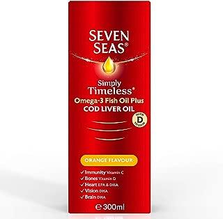 Seven Seas Pure Cod Liver Oil Orange Syrup 300ml