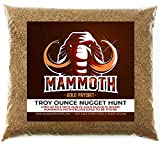 Mammoth 'Troy Ounce Nugget Hunt' - Gold Nugget Paydirt Panning Concentrate Pay Dirt Bag - Gold Prospecting