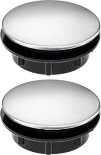 comprar comparacion Tapa de Agujero de Grifo de Fregadero Tapón de Agujero de Grifo de Acero Inoxidable, 2 Packs (1,1 a 1,7 Pulgadas de Diámetro)
