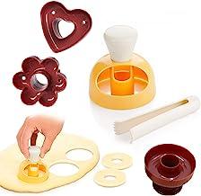 Moule à Beignets Donut Moules,Cuisson Pâtisserie Outils Donut Donut Moule DIY Fried Donut Maker Cutter,Fabricant de Moules...