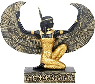 SUMMIT COLLECTION Ancient Egypt Black and Gold Maat Statuette