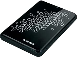 Toshiba 500 Gb Canvio Black with White Accents 3.0 USB External Hard Drive