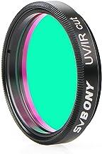 SVBONY Telescope Filter UV IR Cut Block Filter Multi Coated Infra Red Filter CCD Camera Interference UV Filter 1.25 inches...