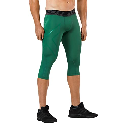 35b015a671 Green 3/4 Compressions for Basketball: Amazon.com
