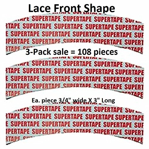 3 Packs - Lace Front Tape, 108 Pieces