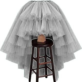 daydremer' secret life Petticoats Faldas de tutú asimétricas de tutú Personalizadas con Capas de Alto bajo Nivel para Mujer
