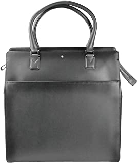MONTBLANC MEISTERSTUCK SFUMATO Large Vertical Tote Leather 114505 Flannel from