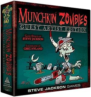 Steve Jackson Games SJG01520 Munchkin Zombies Guest Artist Game
